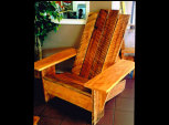 Wood Adirondack Chairs at Rent Sheds