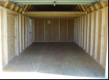 Wood Garage (Interior)
