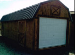 Wood Garage (Lofted)