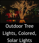 Outdoor Tree Lights, Colored, Solar Lights