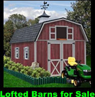 Lofted Barns for Sale