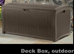 Deck Box, outdoor