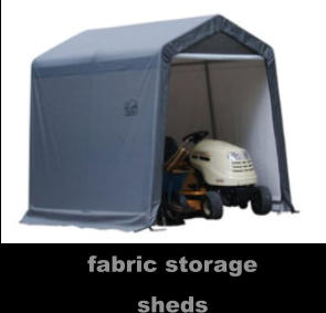 fabric storage sheds