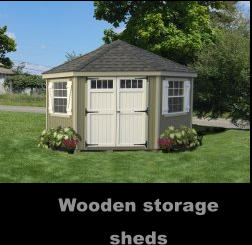Great Price on a Wooden storage sheds