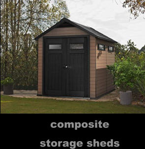 composite storage sheds