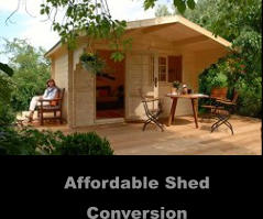 Affordable Shed Conversion