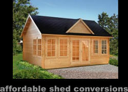 affordable shed conversions