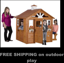 FREE SHIPPING on outdoor play