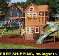FREE SHIPPING, swingsets