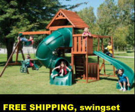 FREE SHIPPING, swingset
