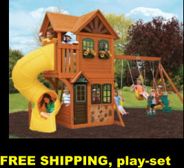 FREE SHIPPING, play-set