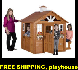 FREE SHIPPING, playhouse