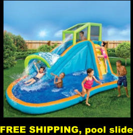 FREE SHIPPING, pool slide