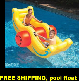 FREE SHIPPING, pool float