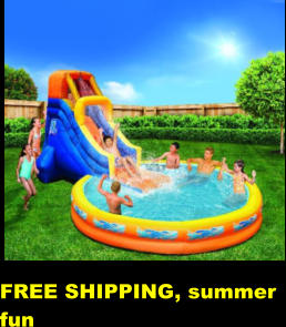 FREE SHIPPING, summer fun