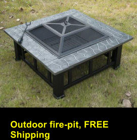 Outdoor fire-pit, FREE Shipping