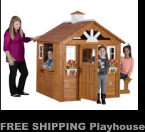 FREE SHIPPING Playhouse