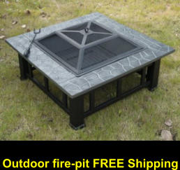 Outdoor fire-pit FREE Shipping